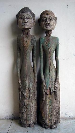 javanese wood carvings