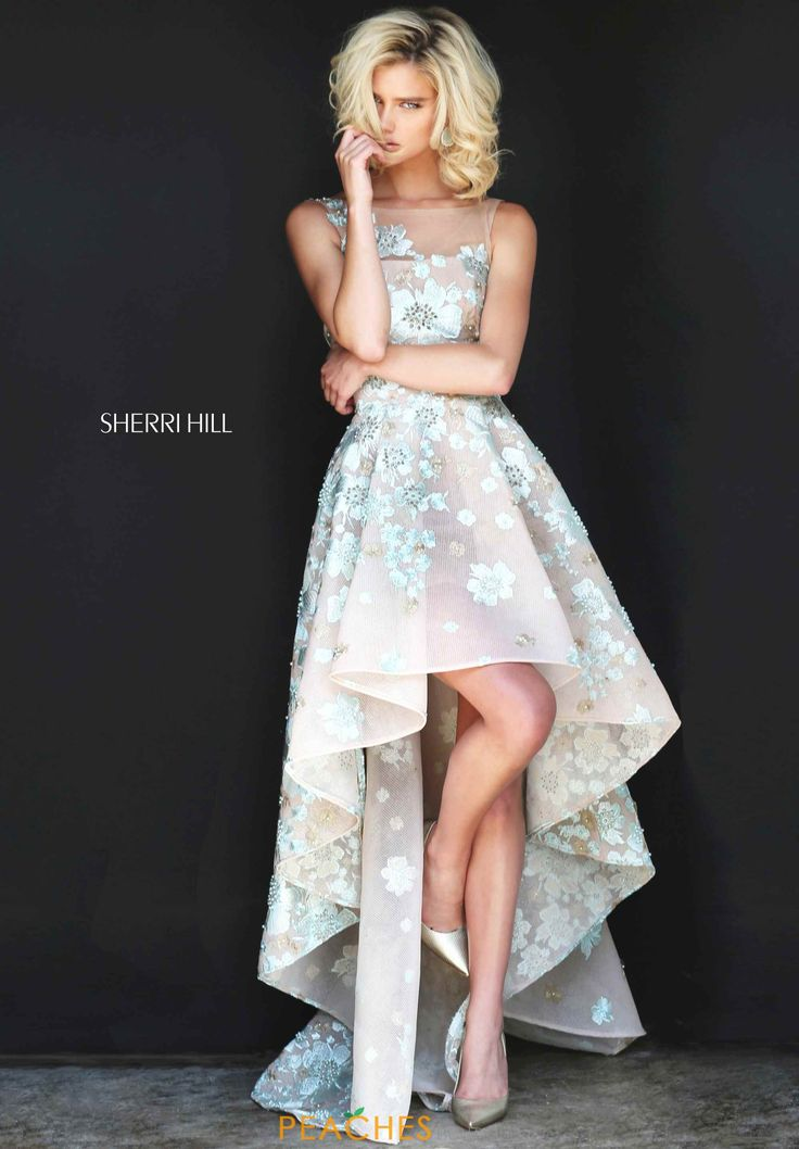 Sherri Hill A Line High Low Dress 51003