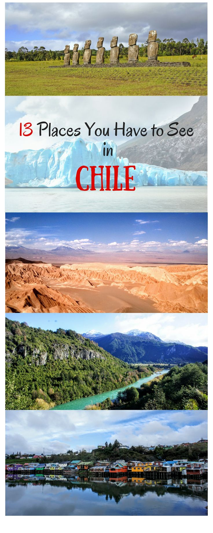 If you are planning to travel through Chile there are some places you definitely need to see. I created a list for you with places you have to see in Chile, like for instance Torres del Paine, Valparaiso, Pucon or Valdivia. I hope you enjoy your trip to Chile….. Thank you for repinning #chile #travel #backpacking #torresdelpaine #valparaiso #santiago