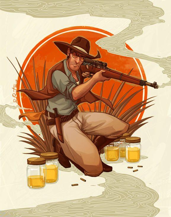 1920s Sniper by ramida-r.deviantart.com on @deviantART