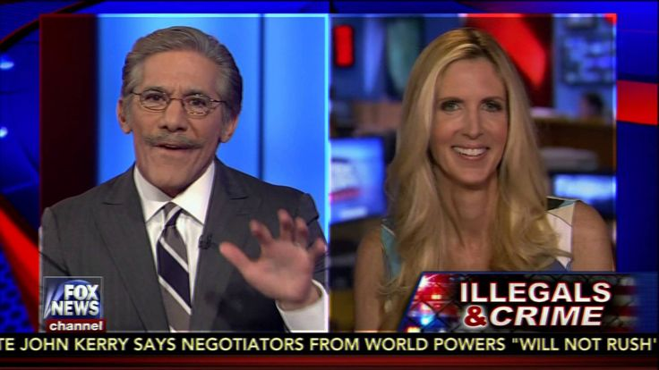 Geraldo and Ann Coulter Rematch on Illegal Immigration Devolves into Sho...