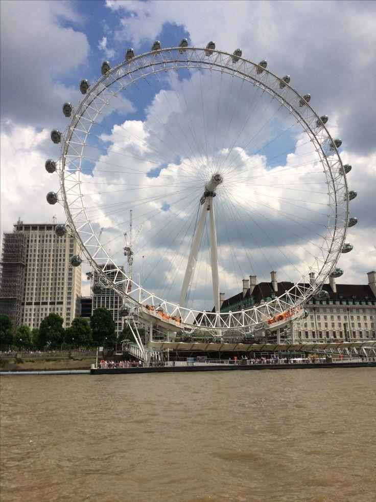 London Eye,and Thames.