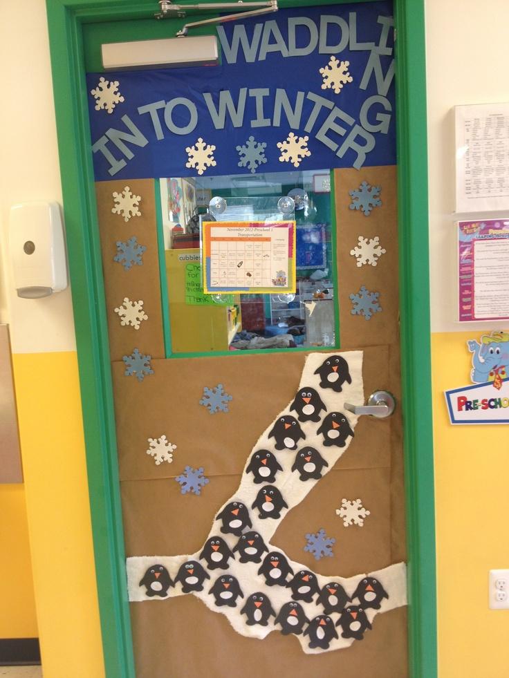 21 best Winter door decoration ideas images on Pinterest