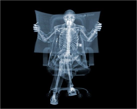 A guy who does x-ray photography. Worth clicking through to his site as well!