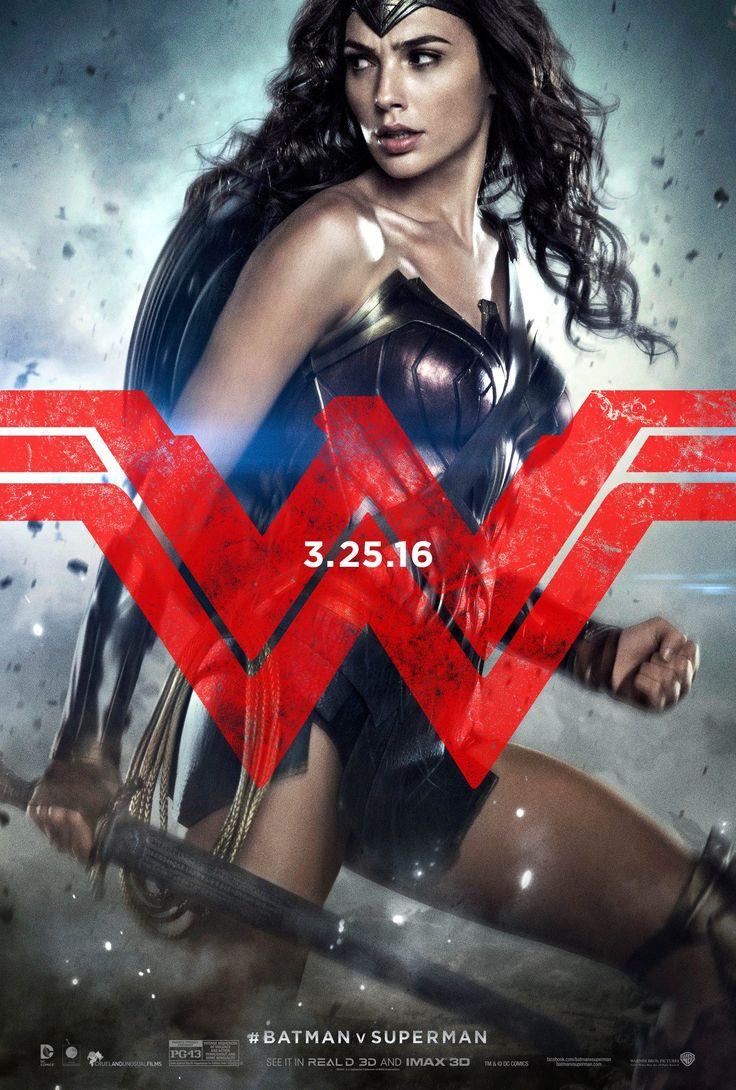 Batman v Superman character posters show the Trinity   #batmanvsuperman   #kurttasche  #successwithkurt