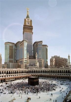 Abraj al bait Tower, Makkah