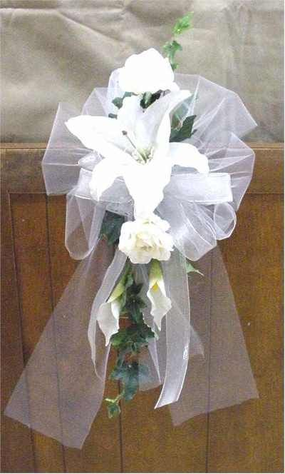 13 best bows images on pinterest wedding church wedding pews and wedding church pew bows wedding decorations on pew decorations for getting junglespirit Choice Image