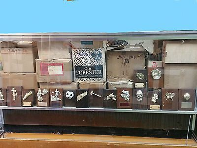 Other Wholesale Sporting Goods 26423: Large Trophy Store Liquidation,Sports Plaques Lot -> BUY IT NOW ONLY: $159 on eBay!