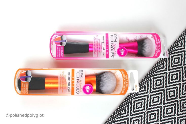 Find out whether the new 'Inta-pop' collection of makeup brushes by Real Techniques lives up to their claims!
