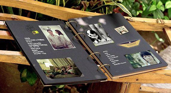 Álbum de fotos de anillas extra grande 76 páginas por PapergeekCo