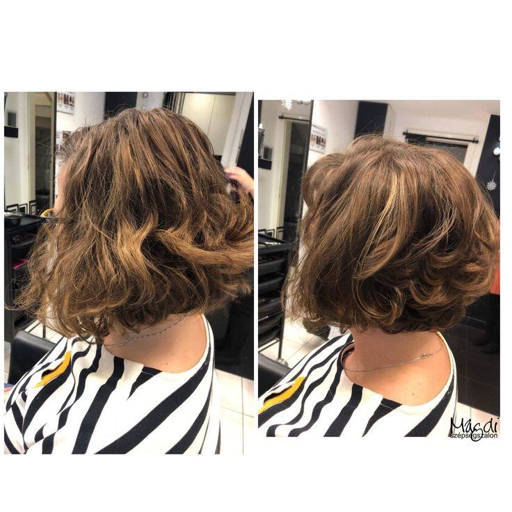 Rövidebb bob frizura, egy kényelmes hajviselet. Noémi festése és vágása :)  www.magdiszepsegszalon.hu  #hairstyle #hair #hairfasion #bobhair #haj #széphaj #bobhaircut #bobhaj #festettbob ️#hairstyle #hair #hairfasion #haj #festetthaj #coloredhair #széphaj #szépségszalon #beautysalon #fodrász #hairdresser #ilovemyhair #ilovemyjob❤️ #haircut #cut