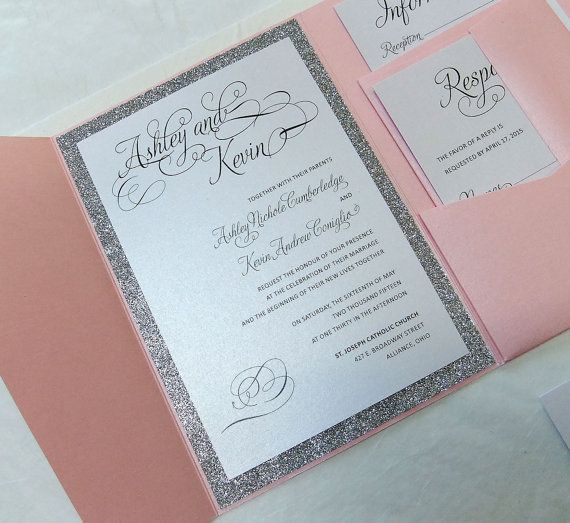 14 best Wedding invitations images on Pinterest Silver wedding - best of wedding invitation maker laguna
