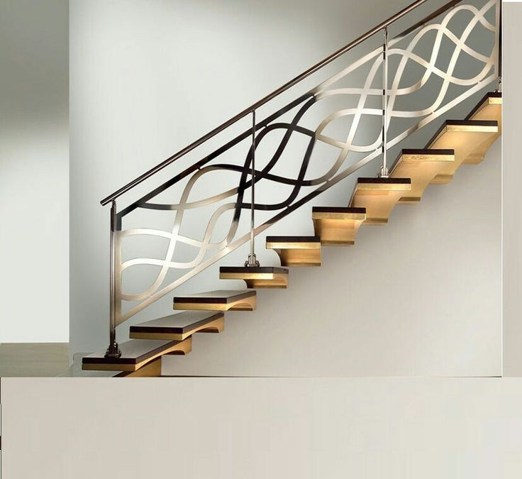 Best 14 Best Mid Century Modern And Rustic Stair Railings 400 x 300