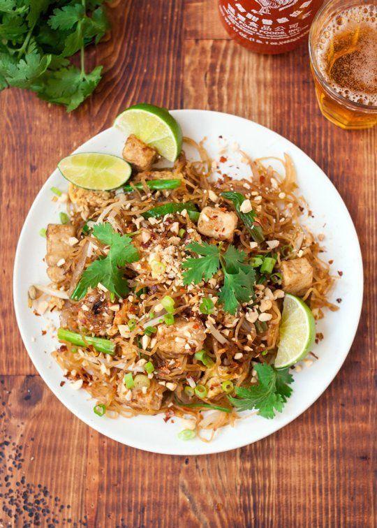 Spaghetti Squash Pad Thai (maybe sub chicken for the tofu?)