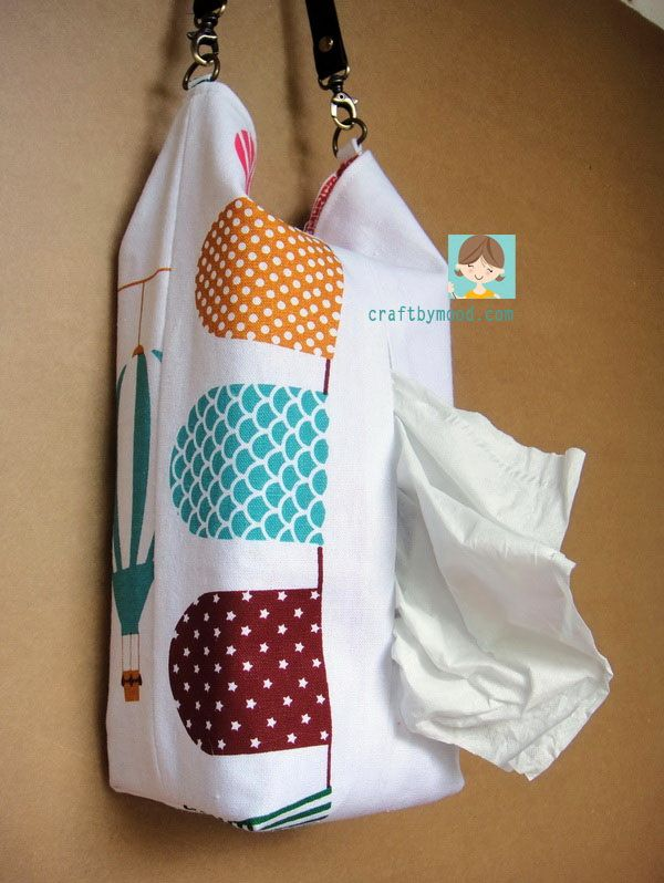 Tutorial Menjahit Tempat Tissue Gantung ( Tissue Bag )   craftbymood.com