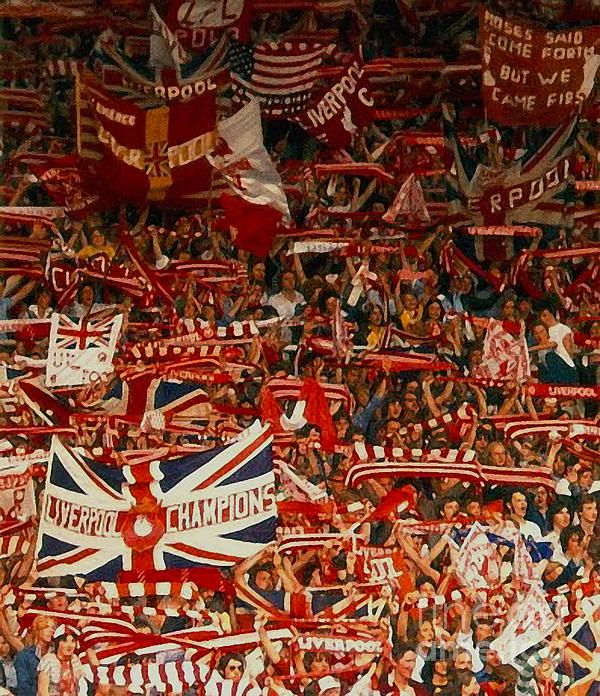 The Kop, Anfield, Liverpool, England