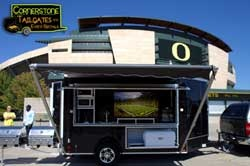 cornerstonetailgates.com | Tailgating Trailers For Rent | Party Trailers For Lease | Party Pull Behind Trailer | NW tailgating | Oregon Ducks tailgate trailer