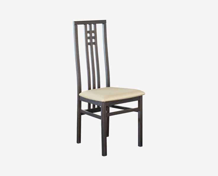 Dania - The Scala dining chair has a tall, slender profile that highlights the detailed woodwork on the seat back. With a comfortable seat and high style, this chair offers the best of both worlds.