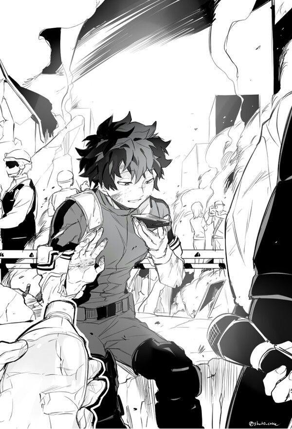 Bnha Bha Todoroki X Midoriya X Bakugou Quyển 2 My Hero Academia Shouto Deku Boku No Hero My Hero Academia Manga