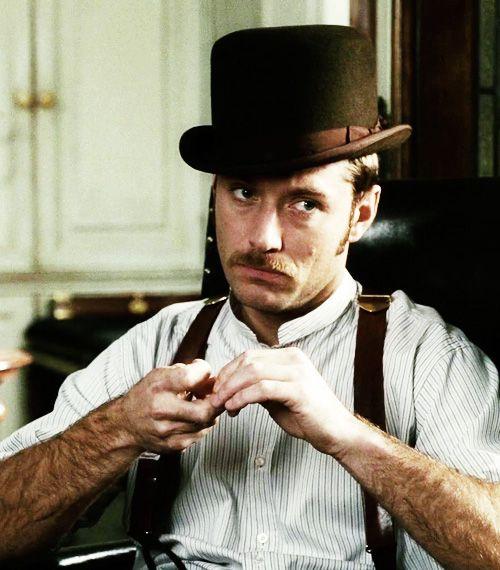 Jude Law as John Watson in 'Sherlock Holmes'