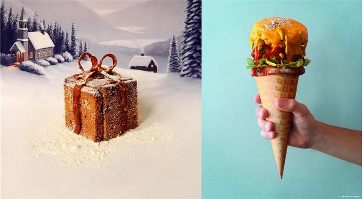 Santa Fat Burger | Canicule Burger