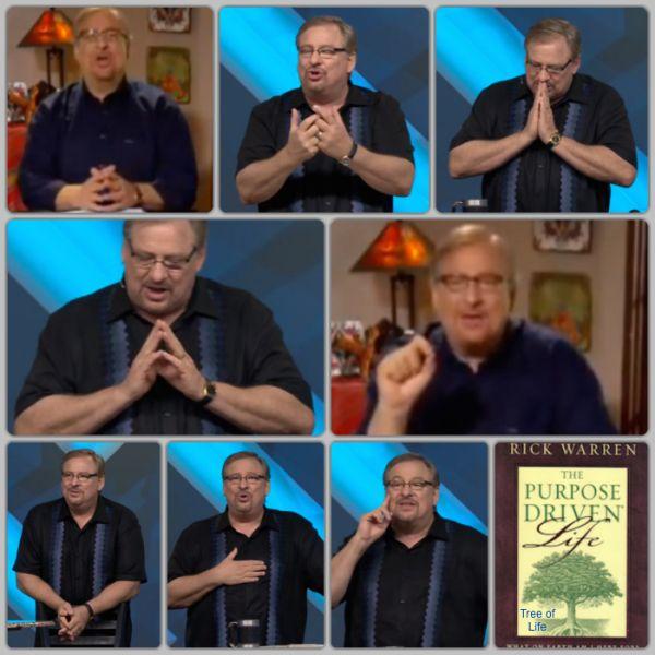 Rick Warren with multiple Masonic Illuminati hand signs. http://www.youtube.com/watch?v=f1RgMNO5g9U ; http://www.youtube.com/watch?v=4e9DEr0-KDI