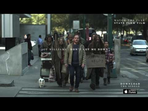 """Joy Williams - Don't Let Me Down - Official Track (State Farm """"Following"""") - YouTube"""