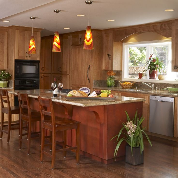Rustic Pendant Lighting Kitchen Traditional with Wood Countertops Contemporary Ovens