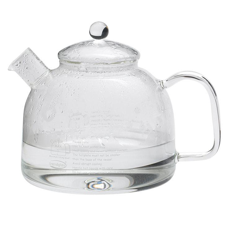 Glas Wasserkocher ohne Plastik - 1,75 Liter Wasser kochen
