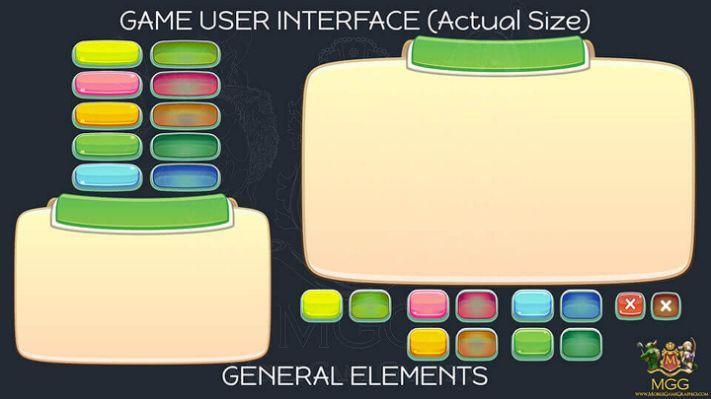 2D Game Art Vector Kit-Game   – Design Ideas