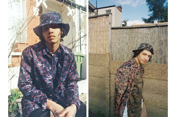#supreme x #commedesgarcons capsule collection