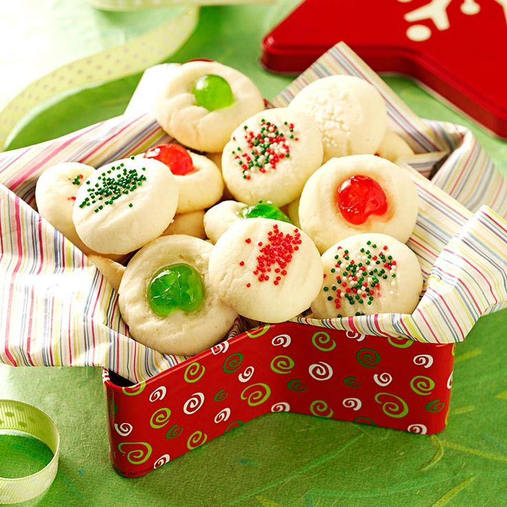 Whipped Shortbread Recipe -This version of shortbread melts in your mouth. Mostly I make it for the holidays, but I'll also prepare it year-round for wedding showers and ladies' teas. —Jane Ficiur, Bow Island, Alberta