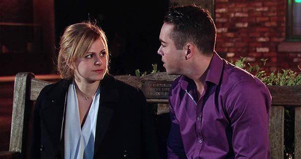 Sarah Louise Platt (Tina O'Brien) & Todd Grimshaw (Bruno Langley) (December 2015)