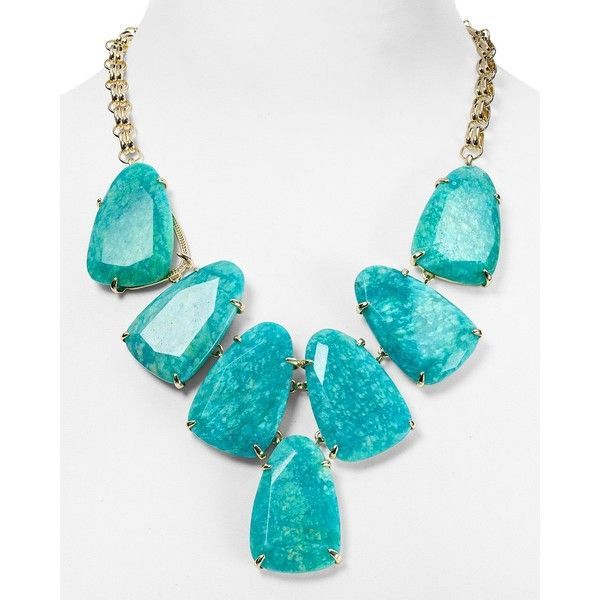 Kendra Scott Harlow Statement Necklace, 19 ($235) ❤ Will be using birthday discount on this sweet thang