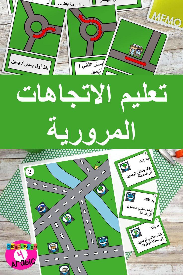 Teach Arabic Directions Teach Arabic Speaking Activities Learn A New Language