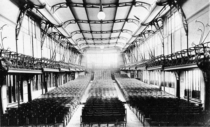 victor horta maison du peuple - 1896-99 - Bryselli