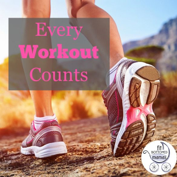Repeat after us: a short workout is better than no workout at all!