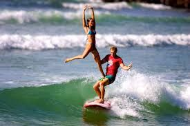 Wow this is a super action on surf