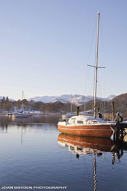 Windermere from Waterhead, Ambleside, the Lake District, Cumbria