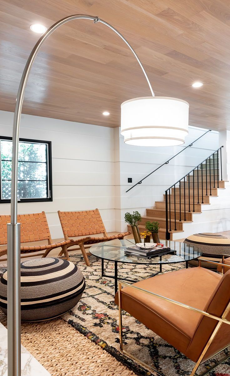 The Mason Led Floor Lamp Works Well With A Variety Of Interior