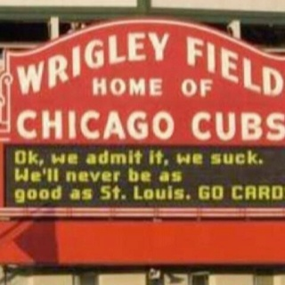 Cubs vs. Cards at Wrigley Field