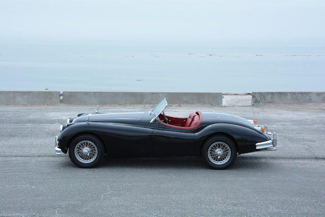<b>1957 Jaguar XK140 SE 3.4-LITER ROADSTER</b><br />Chassis no. S813038<br />Engine no. G9654-8S