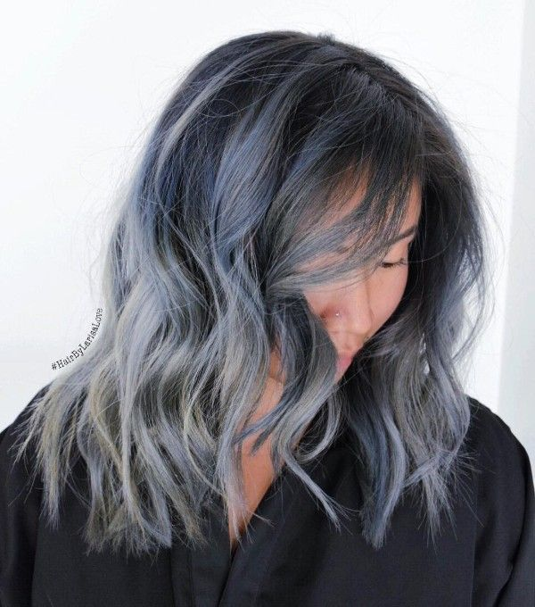 black and blue hair color ideas
