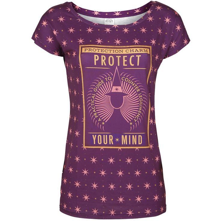 Protect Your Mind - T-Shirt von Phantastische Tierwesen und wo sie zu finden sind