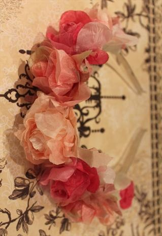 ROMANTIC FLOWER HAIRBAND