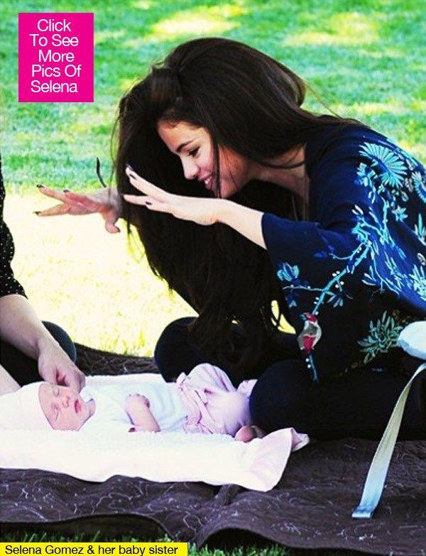 selena gomez baby sister    Selena Gomez Baby Sister