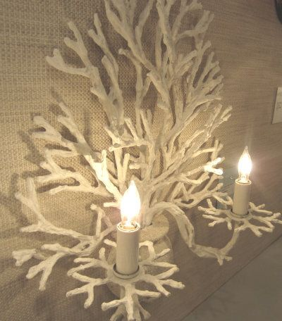 Beach House Lighting Coral Sconce Currey Amp Co Bebe
