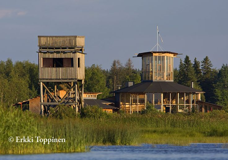 Bird-watching tower - Liminganlahti, Gulf of Bothnia, Northern Ostrobothnia - Pohjois-Pohjanmaa