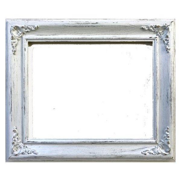 open photo frame ornate whitewhite shabby chicvintage wedding - White Frame