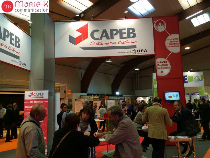 Visite d'Artibat à Rennes le 22 octobre 2014, le salon du BTP de l'Ouest qui réunit tous les 2 ans l'ensemble des professionnels de la construction et du bâtiment. www.mariek-commun... www.artibat.com/fr/ #artibat